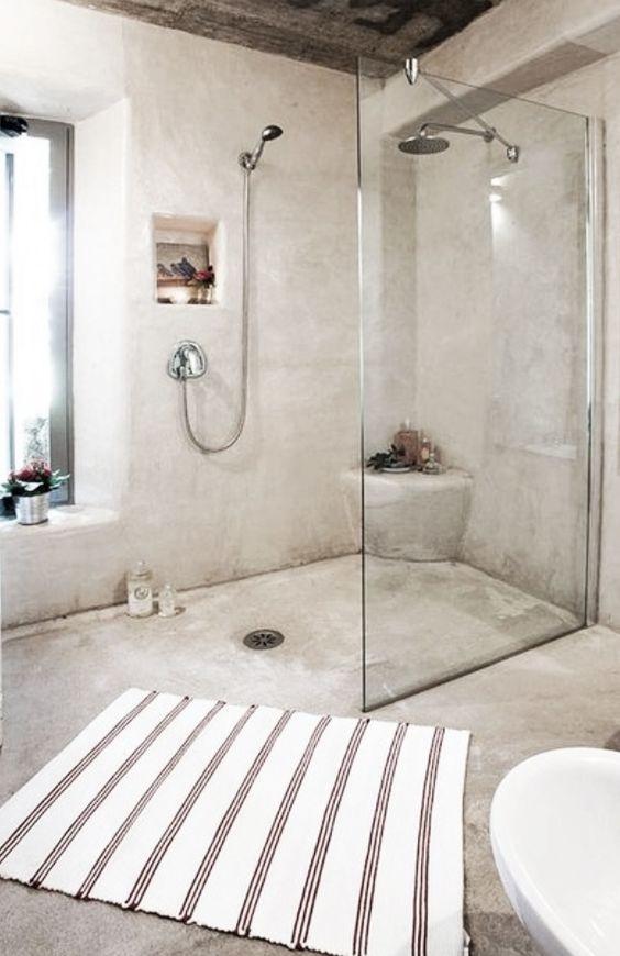 Faire salle de bain avec Tadelkak