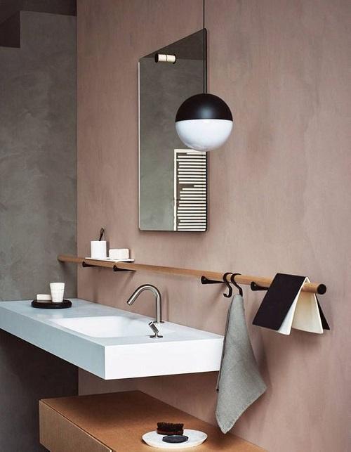 Murs en Tadelakt salle de bain