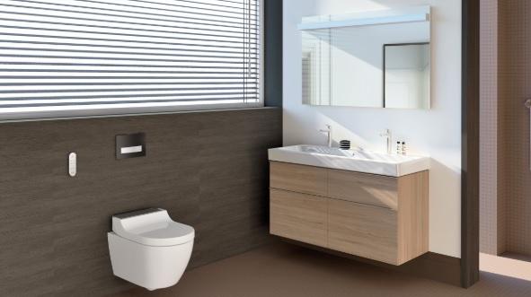 Toilette suspendue Geberit Aqua Clean