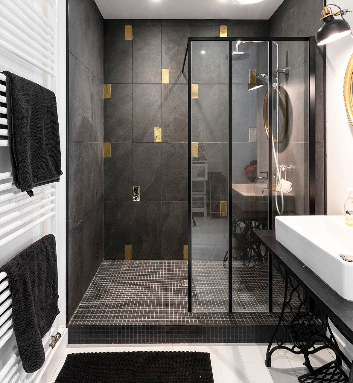 Salle de bain avec douche verrière : choisir sa paroi verrière d ...