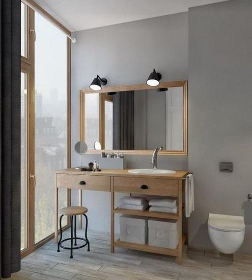 Spot miroir salle de bain
