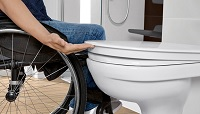wc surélevé pmr handicapé
