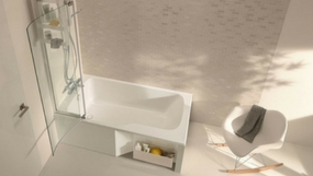 Baignoire Rectangle Bain Douche Angle Ilot Batinea Com