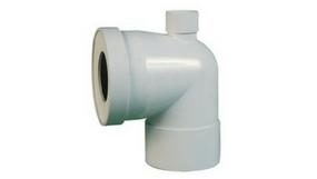Pipe WC et rondelles de chasse