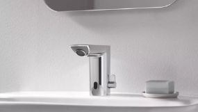 Robinet lavabo à détection infrarouge