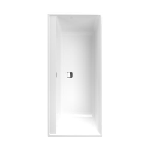 Villeroy et Boch - Baignoire rectangulaire Collaro, 160 X 75, Stone white, chrome. Villeroy et Boch - Baignoire rectangulaire Collaro, 160 X 75, Stone