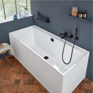 Baignoire Villeroy et Boch rectangle acrylique - Collection Collaro