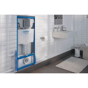 Broyeur pour wc suspendu - Bati support Grohe