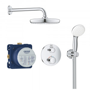 Mitigeur thermostatique encastrable Grohe Grohtherm 1000