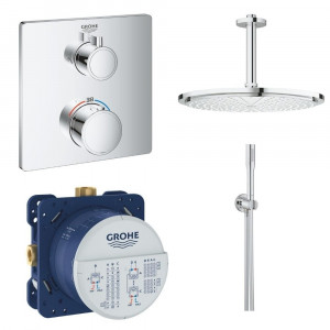 Mitigeur douche encastrable Grohe Grohtherm