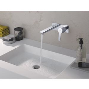 Robinet Grohe - Robinet mural Grohe Lineare Taille L