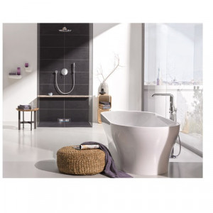 robinet baignoire ilot grohe essence. Black Bedroom Furniture Sets. Home Design Ideas