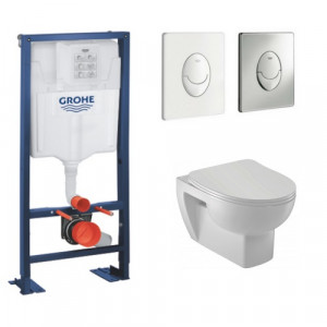Wc suspendu Grohe - Wc suspendu sans bride Jacob Delafon Odeon Up