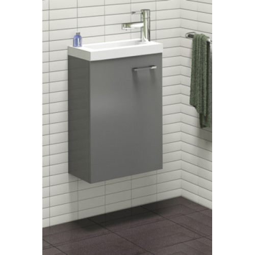 Meuble wc lave mains 40 cm neova for Meuble lave main toilette