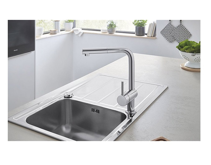 Mitigeur Cuisine Grohe Minta Douchette Extractible