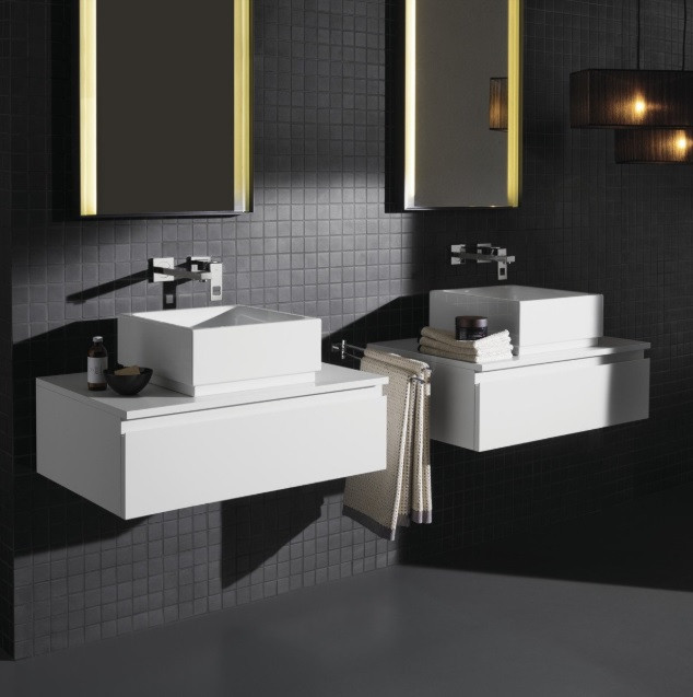 robinet mural lavabo grohe eurocube taille m. Black Bedroom Furniture Sets. Home Design Ideas