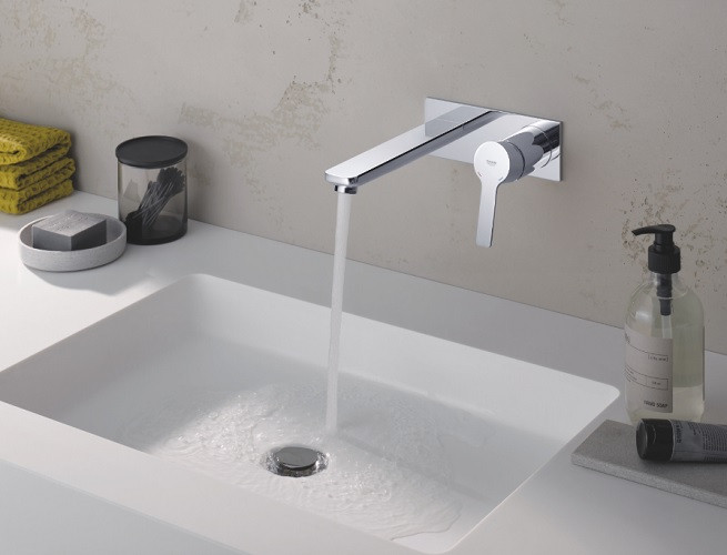 Robinet Mural Lavabo Grohe Lineare Taille L Batineacom