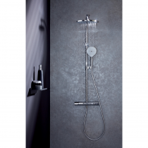 Colonne de douche Amelie chrome - Jacob Delafon