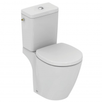 Pack WC avec abattant frein chute Ideal Standard Connect space fond blanc
