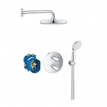 Mitigeur douche thermostatique encastrable Grohe Grohtherm 1000 Tempesta 210