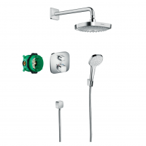 Mitigeur thermostatique douche encastrable Hansgrohe Croma Select E