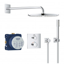 Mitigeur thermostatique encastrable Grohe Grohtherm Rainshower Cosmopolitan 310