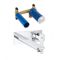 Robinet Grohe - Robinet mural salle de bain - Grohe Lineare Taille  L