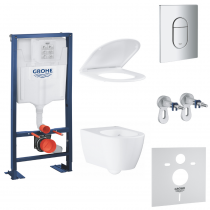Pack wc Grohe suspendu sans bride