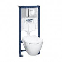 Pack wc suspendu Grohe Solido Compact - Bati support wc suspendu Grohe