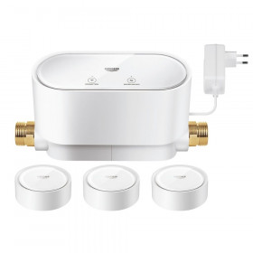 Kit contrôleur intelligent Grohe Sense Guard + 3 capteurs intelligents