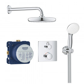 Mitigeur douche encastrable Grohe Grohtherm Tempesta 210