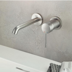 Mitigeur mural lavabo Grohe Essence - Taille M