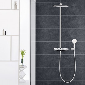 Colonne douche Grohe Rainshower System SmartControl 360 DUO
