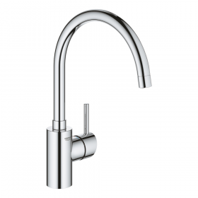 Robinet cuisine GROHE Concetto Bec haut