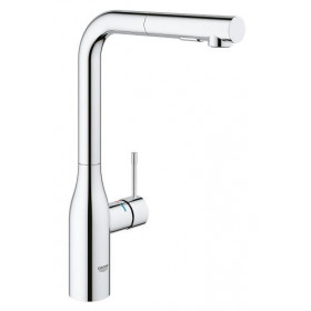 Robinet evier avec bec douchette Taille L Grohe Essence
