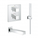Robinet thermostatique encastrable bain douche Grohe Grohtherm Cube