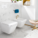 Bidet suspendu céramique blanche - Finion
