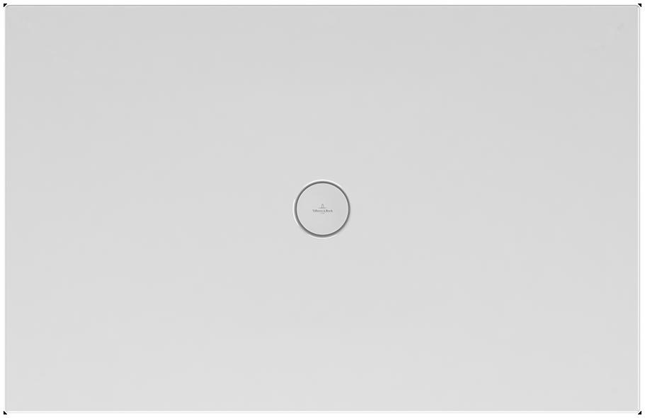 Villeroy et Boch - Receveur douche à encastrer Subway Infinity, 80 x 80, blanc, adherence elevee / classe B / PN18