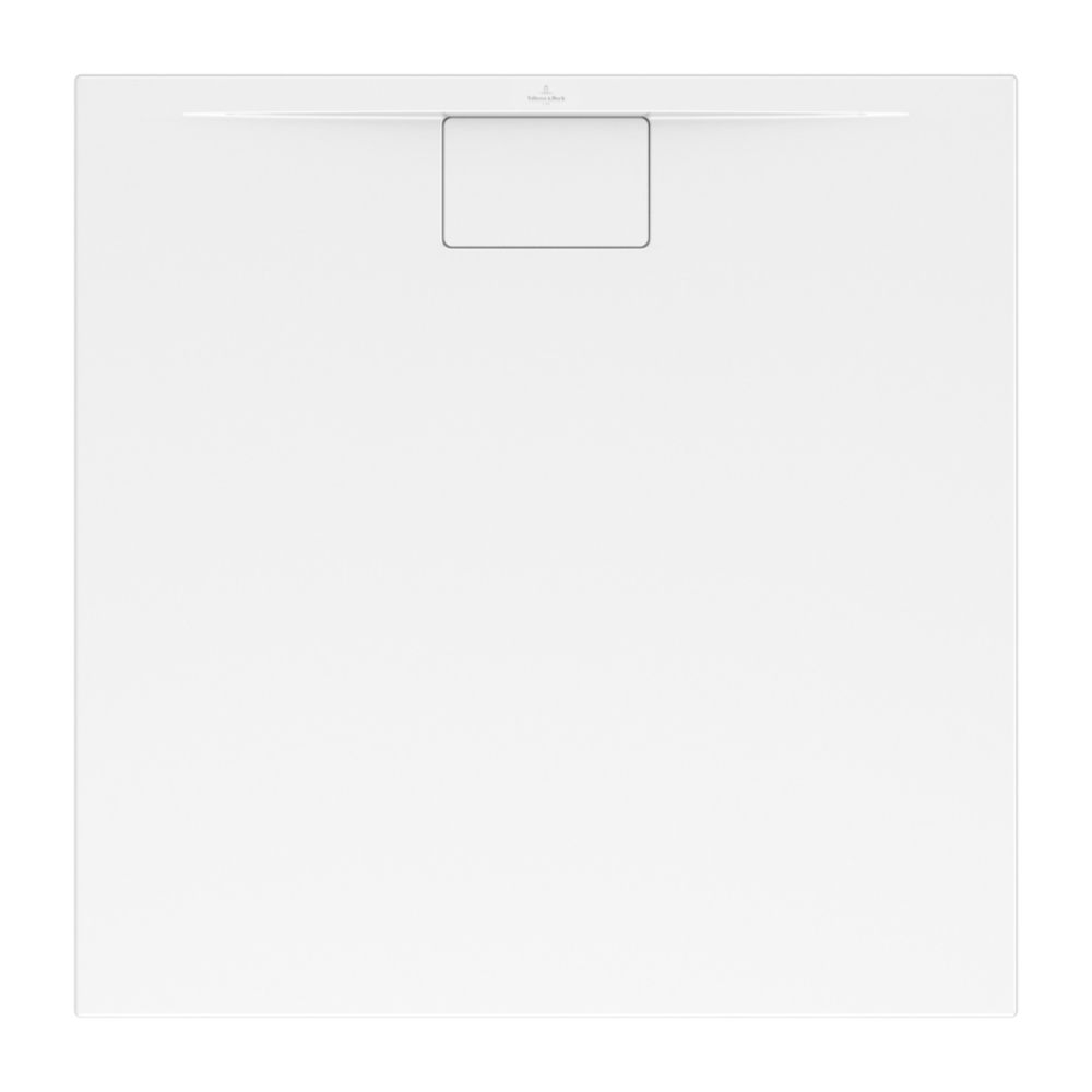 Villeroy et Boch - Receveur Architectura Metalrim, 140 x 75, star white, adherence elevee / classe B / PN18, 1,5. Villeroy et Boch - Receveur Architec