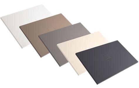 Villeroy et Boch - Receveur recoupable douche Squaro Infinity, 120 x 90, gris anthracite. Villeroy et Boch - Receveur recoupable douche Squaro Infinit