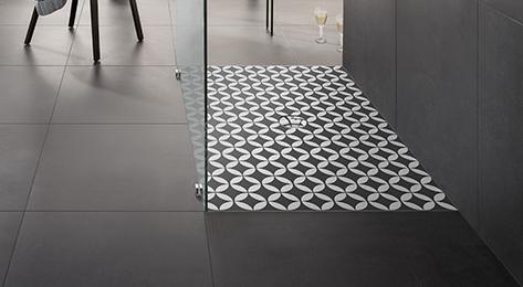 Villeroy et Boch - Receveur douche à encastrer Subway Infinity ViPrint, 100 x 75, abbey grey