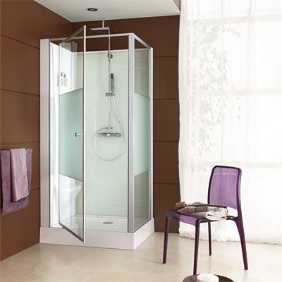 leda cabine douche paroi douche salle de bain batinea. Black Bedroom Furniture Sets. Home Design Ideas