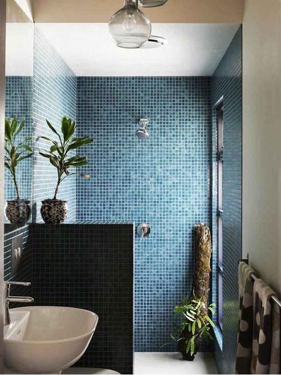 faire une douche à l'italienne dans une petite salle de bain