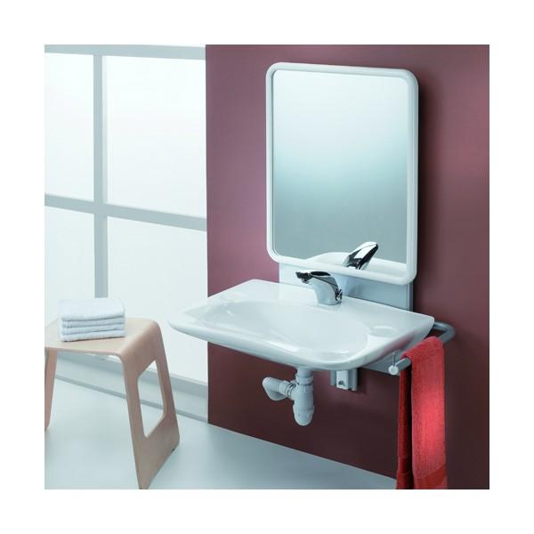 lavabo en c ramqiue allia adapt aux personnes mobilit r duite sur. Black Bedroom Furniture Sets. Home Design Ideas